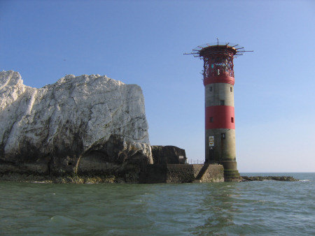 The Needles lighthouse
