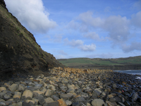 Boulders on the foreshore at Kimmeridge