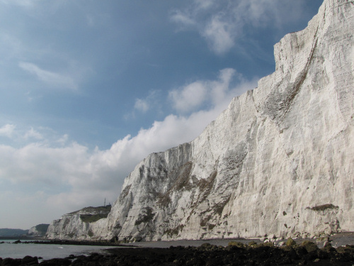 Dover chalk cliffs