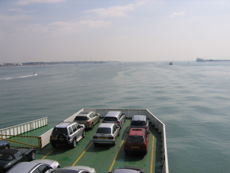 Car ferry to Cowes